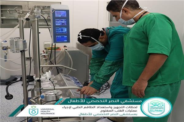 التأمين الصحي ببورسعيد: «حلا وسدى» أول جراحتي قلب بالمنظومة الجديدة