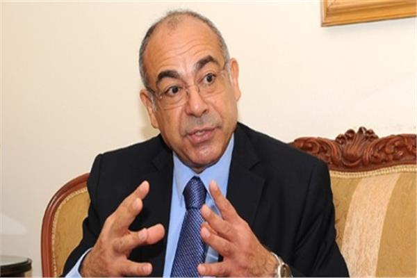 السفير محمد إدريس المندوب الدائم لمصر لدي الأمم المتحدة في نيويورك