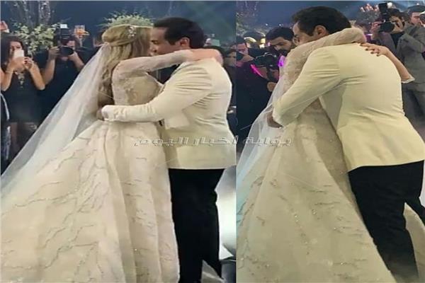 حفل زفاف أحمد فهمي وهنا الزاهد