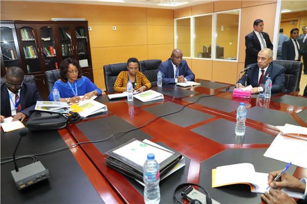 وزير الزراعة خلال الاجتماع التشاورى الحادي عشر لمركز الأرز الإفريقي