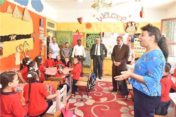 رياض أطفال جديدة بالمدارس الرسمية والمتميزة بأسيوط