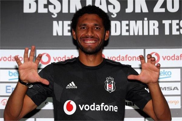 محمد النني بقميص بشكتاش التركي