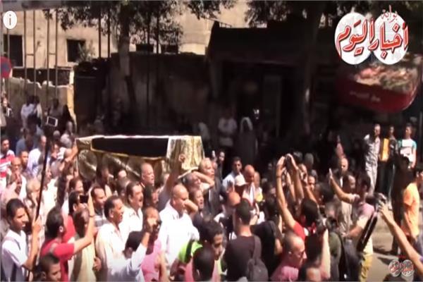 جنازة الراحل أحمد رجب
