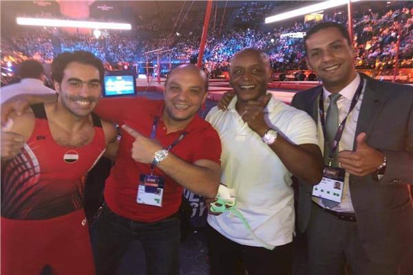 أبو القاسم يحصد ذهبية كأس العالم للجمباز بفرنسا