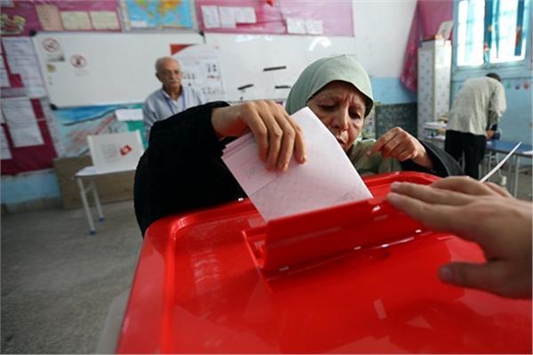 صورة من رويترز للانتخابات التونسية
