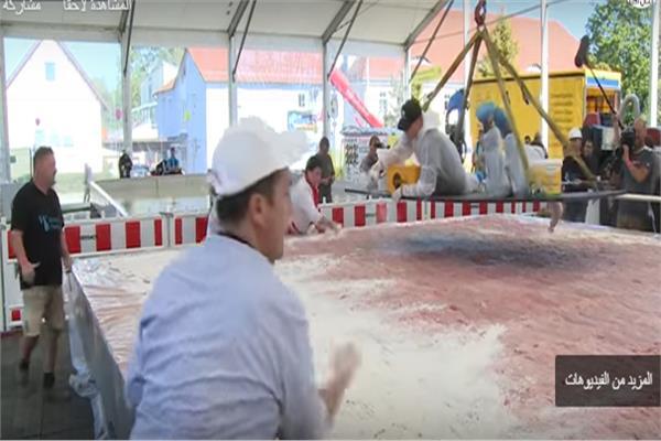 أكبر شريحة لحم تسجل رقما قياسيا بموسوعة جينيس