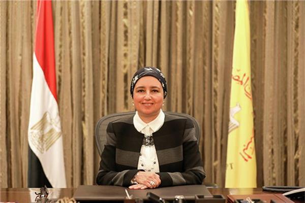 لبنى هلال نائب محافظ البنك المركزي المصري