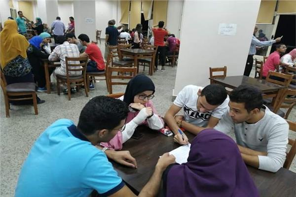 جامعة مدينة السادات تشارك في الملتقى الأول للأنشطة الطلابية بجامعة طنطا