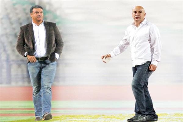 حسام حسن وإيهاب جلال