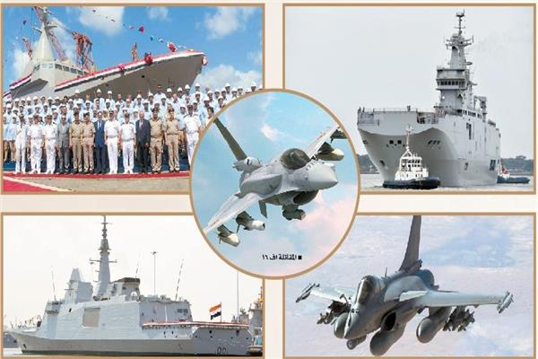تطوير استراتيجية مصر العسكرية حوّلها لقوة إقليمية لايستهان بها