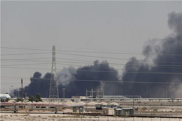 الهجوم على منشأتي النفط بالسعودية