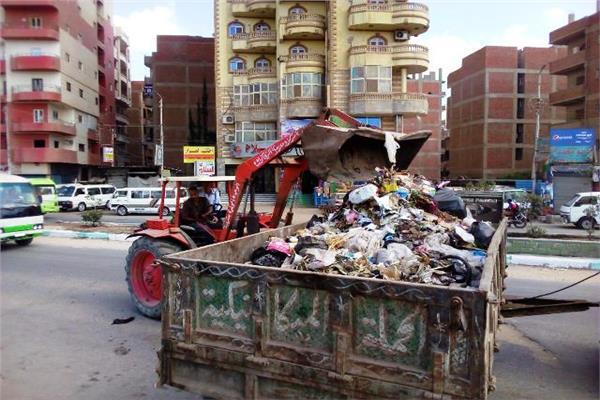 انطلاق حملة نظافة بمدن الشرقية احتفالا بعيدها القومي