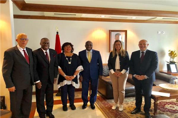 وزير الثقافة تصل الي انجولا للمشاركة في منتدي افريقيا لثقافة السلام