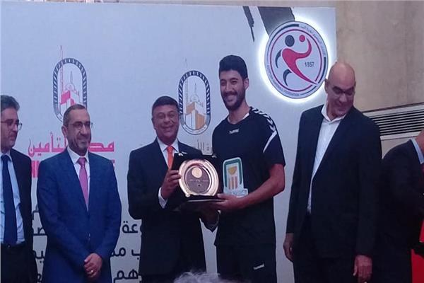 شركة مصر القابضة للتأمين تكرم فريق كرة اليد للناشئين