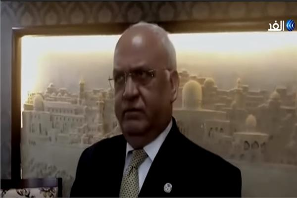 صائب عريقات أمين سر اللجنة التنفيذية لمنظمة التحرير