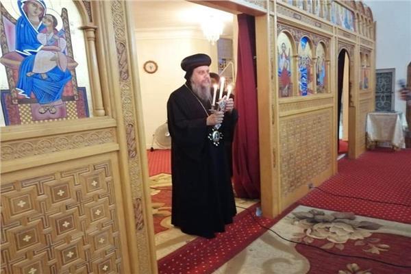 البابا تواضروس يلقي اجتماع الأربعاء بكنج مريوط