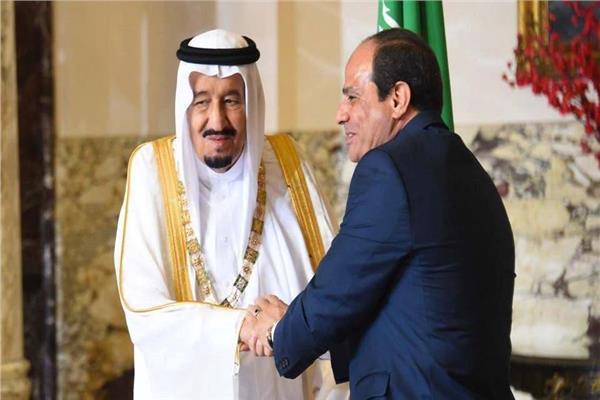 الرئيس عبد الفتاح السيسي والملك سلمان