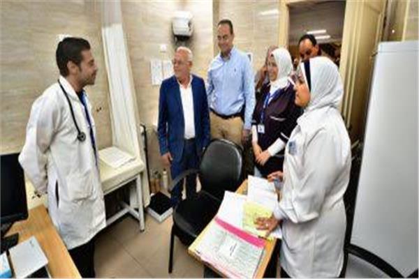 منظومة التأمين الصحى الشامل في بورسعيد
