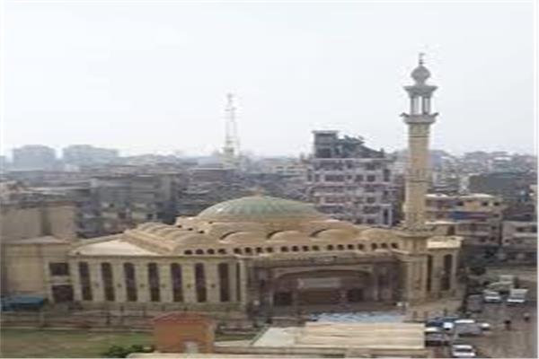 مسجد ناصر بمدينة دمنهور