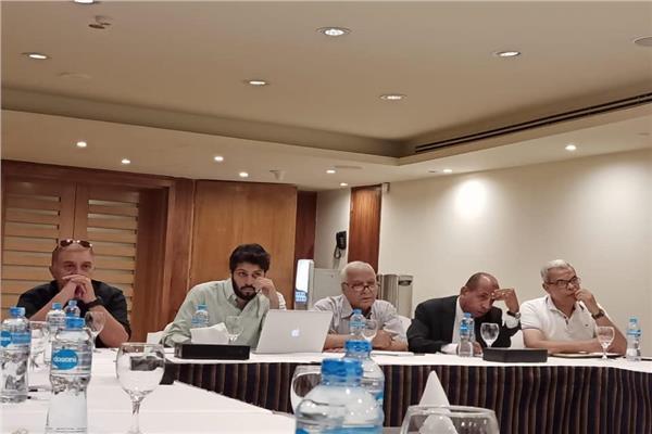 حسام الزناتي مدير إدارة المسابقات باتحاد الكرة