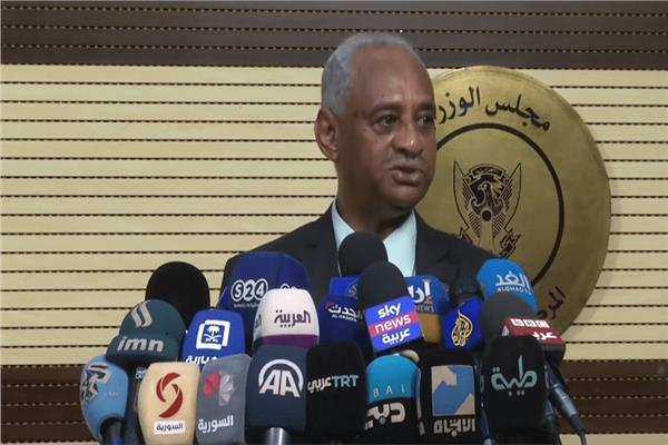 وزير الثقافة والإعلام السوداني فيصل محمد صالح