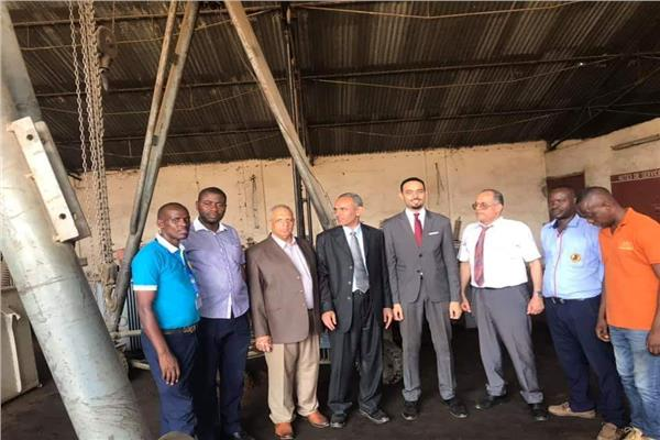 ورشة لإصلاح المحولات في بوروندي