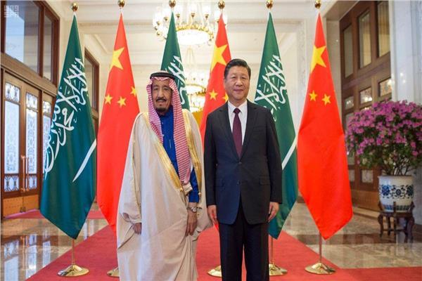 الرئيس شي جين بينج و الملك سلمان
