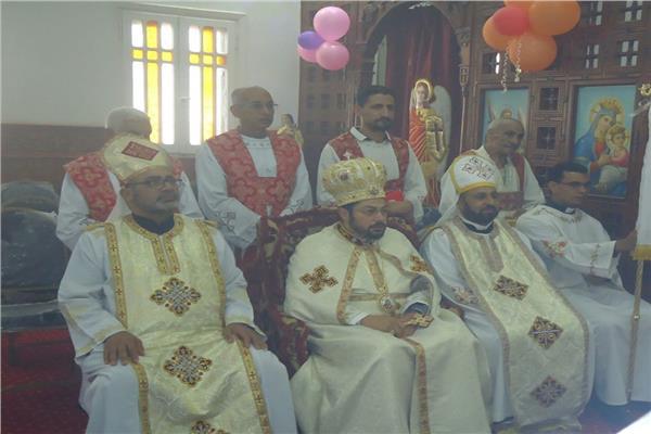الأنبا باخوم النائب البطريركي لشؤون الإيبارشية البطريركية