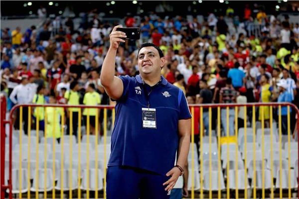 محمد عادل المدير الإداري لنادي بيراميدز