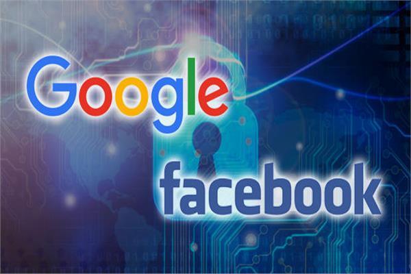 جوجل و فيسبوك