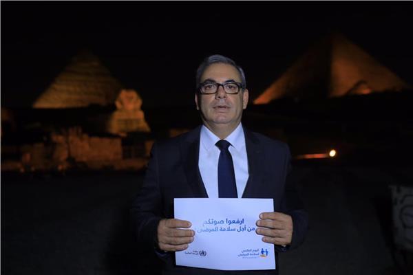 محمد عبد العزيز رئيس الصوت والضوء