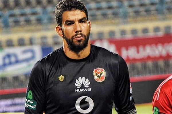 شريف إكرامي حارس مرمى النادي الأهلي
