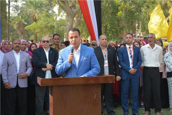 جامعة أسيوط تستقبل 84 ألف طالب من أبنائها غدا بمراسم تحية العلم