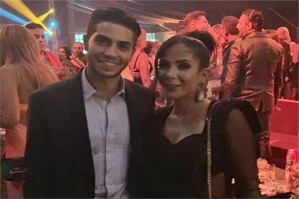 منى زكي ومينا مسعود