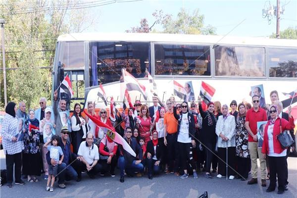 حفلات لنقل المصريين بنيويورك لمقر إقامة الرئيس السيسي