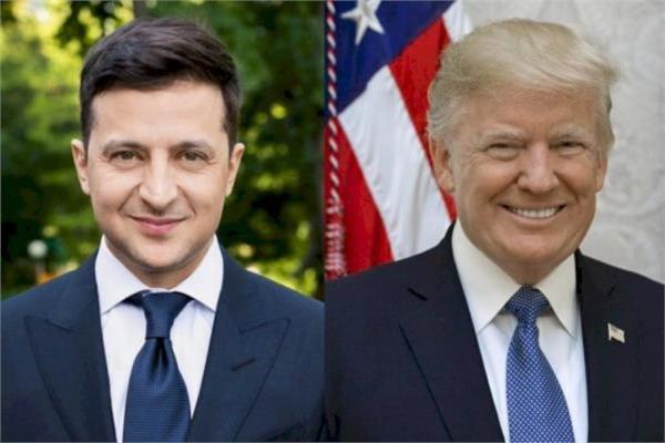 دونالد ترامب وفلاديمير زيلينسكي