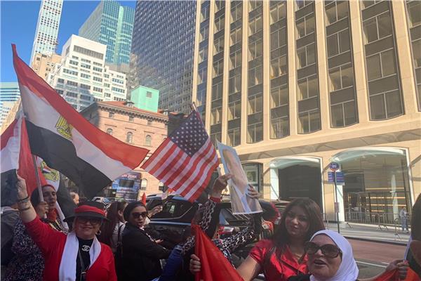 الجالية المصرية في نيويورك