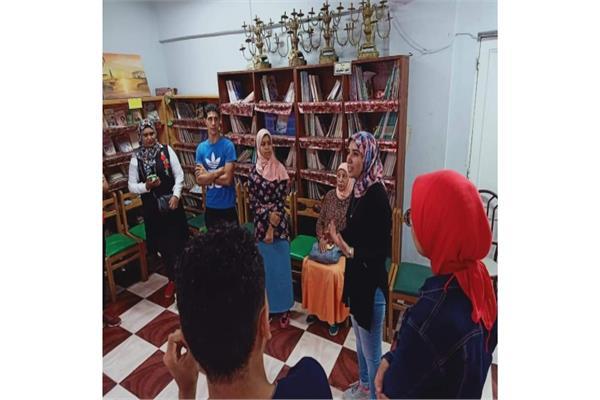 افتتاح معرض الفن التشكيلي لطلائع الإسكندرية