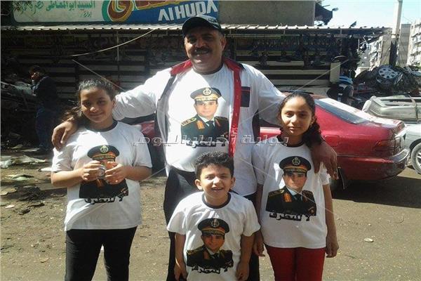أسرة ببورسعيد تدعم الرئيس السيسي