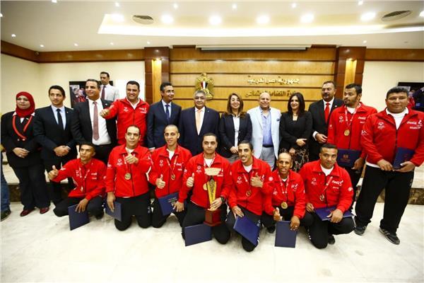 «التضامن» تكرم أبطال مصر للأوليمبياد الخاص المصري