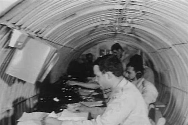 صور نادرة لعمليات الدفاع الجوي خلال حرب أكتوبر