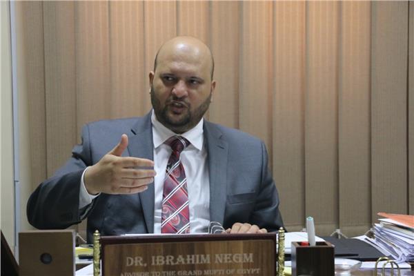 الدكتور إبراهيم نجم - مستشار مفتي الجمهورية