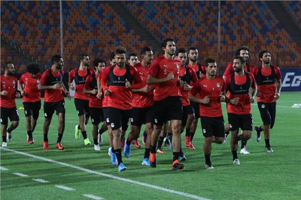منتخب مصر يؤدي تدريبه الأول تحت قيادة البدري