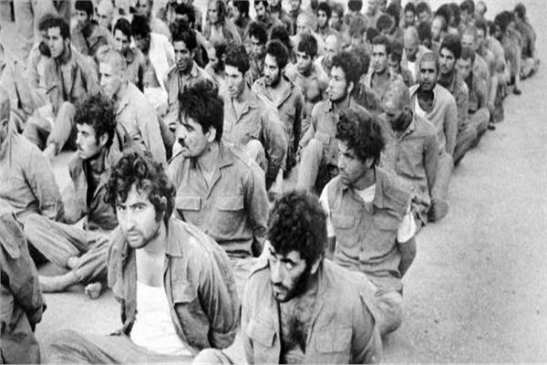 أسرى من الجنود الإسرائيليين في أكتوبر 1973