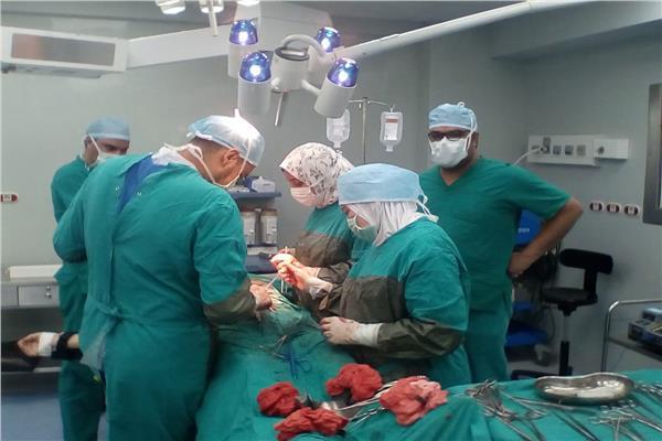 إجراء 7144 عملية جراحية في مستشفيات التأمين الصحي الشامل ببورسعيد