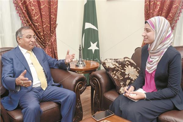 سفير باكستان في القاهرة