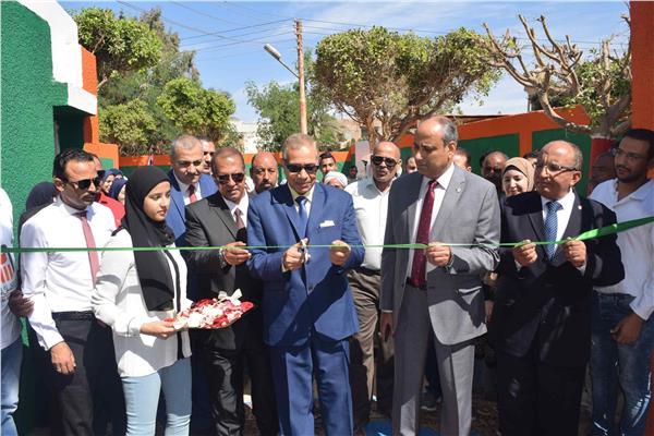 للواء أحمد جبريل السكرتير العام المساعد لمحافظة المنيا