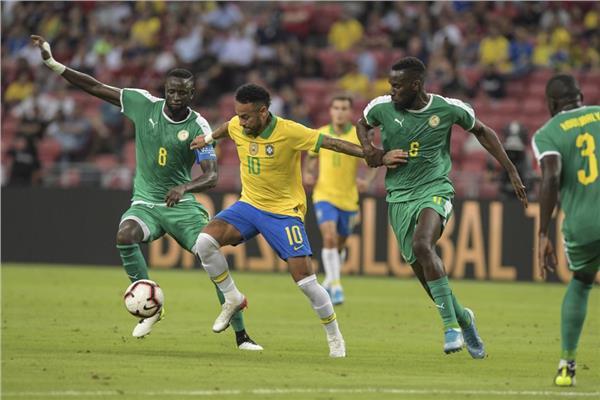 البرازيل تتعادل مع السنغال وديا 1ـ1