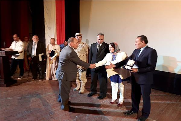 احتفالية لتكريم أبطال حرب أكتوبر بقصر ثقافة بنها