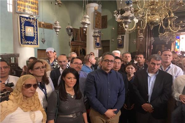 انطلاق ملتقى سانت كاترين لتسامح الأديان بحضور ٩ وزراء و٣٢ سفيرا